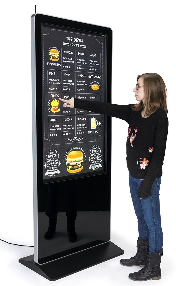 Incredible advantages of interactive & touchscreen kiosks